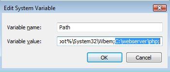 Adjust path