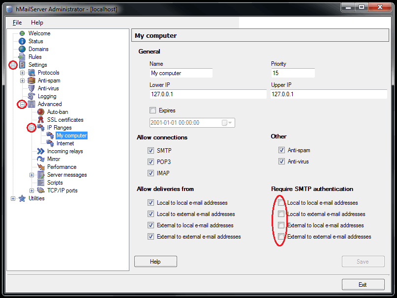 Windows PHP Mail Server Installation Guide | Vert Studios